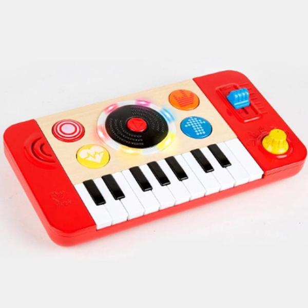 【德國 Hape】歡樂童玩 - 搖滾DJ音樂鍵盤