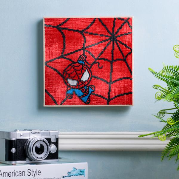 鑽石畫漫威可愛版蜘蛛人
