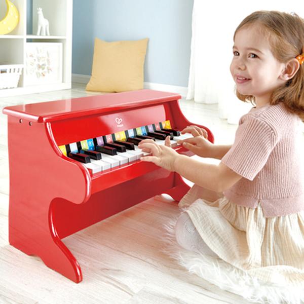 【德國 Hape】歡樂童玩 - 小小音樂家紅色大鋼琴