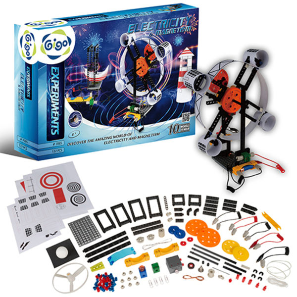 【智高 GIGO】電與磁的奇妙世界 #7065-CN