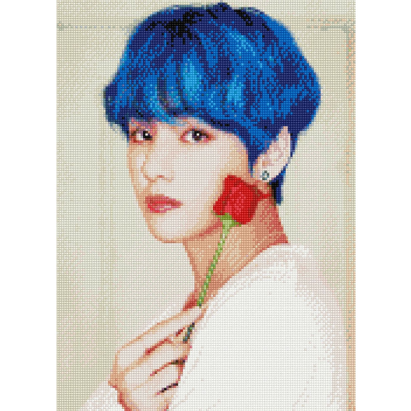 BTS CUBIC PAINTING_V