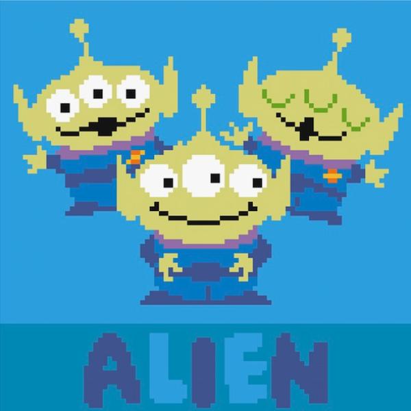 鑽石畫玩具總動員4 三眼外星人